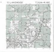 Lakewood T33N-R16E, Oconto County 1987